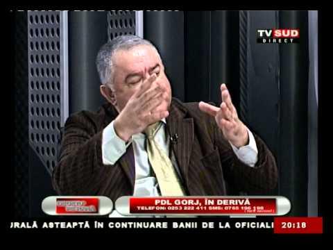 Cu Degetul pe Rană 08.01.2013 – PDL GORJ, ÎN DERIVĂ