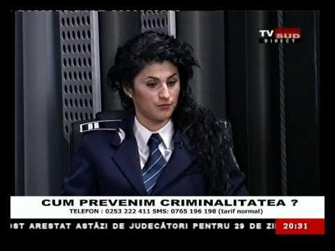 Cu Degetul pe Rană 22.01.2013 – CUM PREVENIM CRIMINALITATEA ?