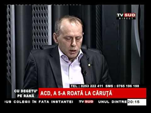 Cu Degetul pe Rană 26.02.2013 – ACD, A 5-A ROATĂ LA CĂRUȚĂ