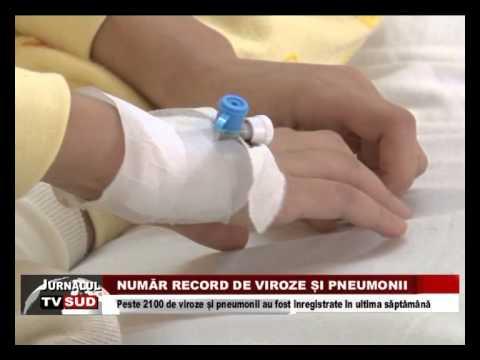 Număr record de viroze și pneumonii