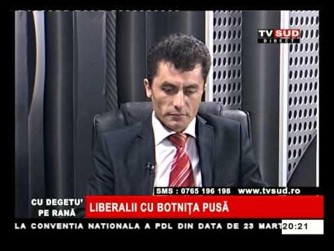 Cu Degetul pe Rană 19.03.2013 – LIBERALII CU BOTNIȚA PUSĂ