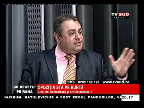 Cu Degetul pe Rană 05.03.2013 – OPOZIȚIA STĂ PE BURTĂ
