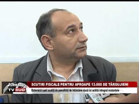 Scutiri fiscale pentru aproape 13.000 de târgujienii