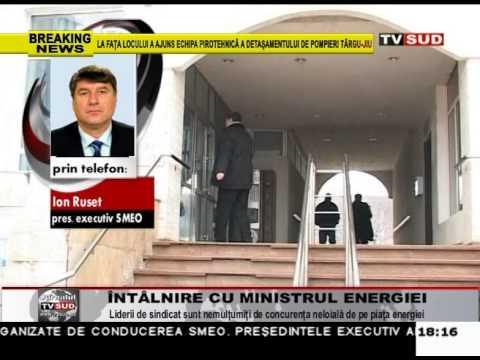 Întâlnire cu ministrul Energiei