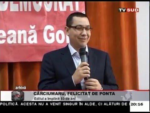 Cârciumaru, felicitat de Ponta