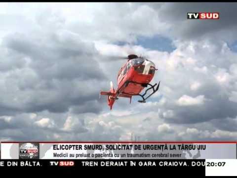 Elicopter Smurd, solicitat de urgență la Tg-Jiu