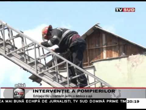 Intervenție a pompierilor