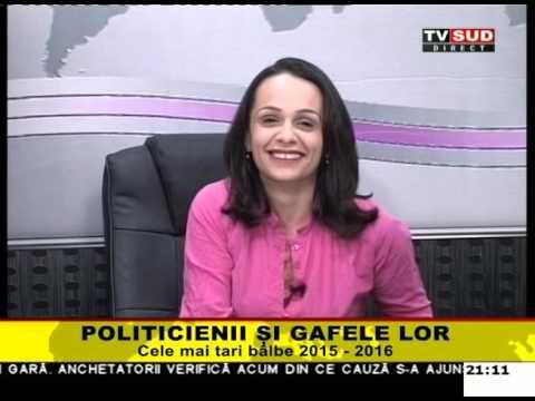 Ora Adevărului 28.04.2016 – POLITICIENII SI GAFELE LOR