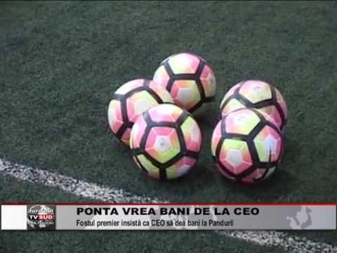 Ponta vrea bani de la CEO