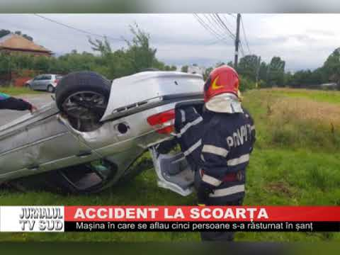 Accident la Scoarța
