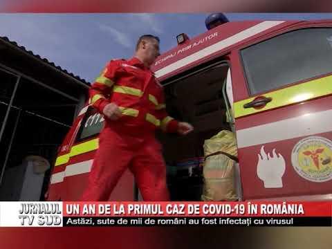 Un an de la primul caz de COVID 19 in Romania