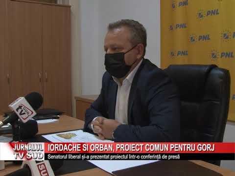 Iordache și Orban, proiect comun pentru Gorj